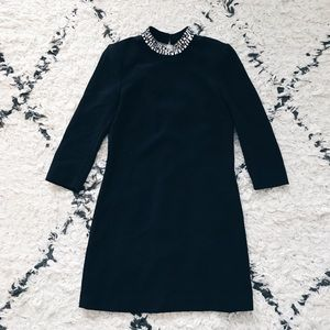 H&M Mini Dress with Crystal Embroidery